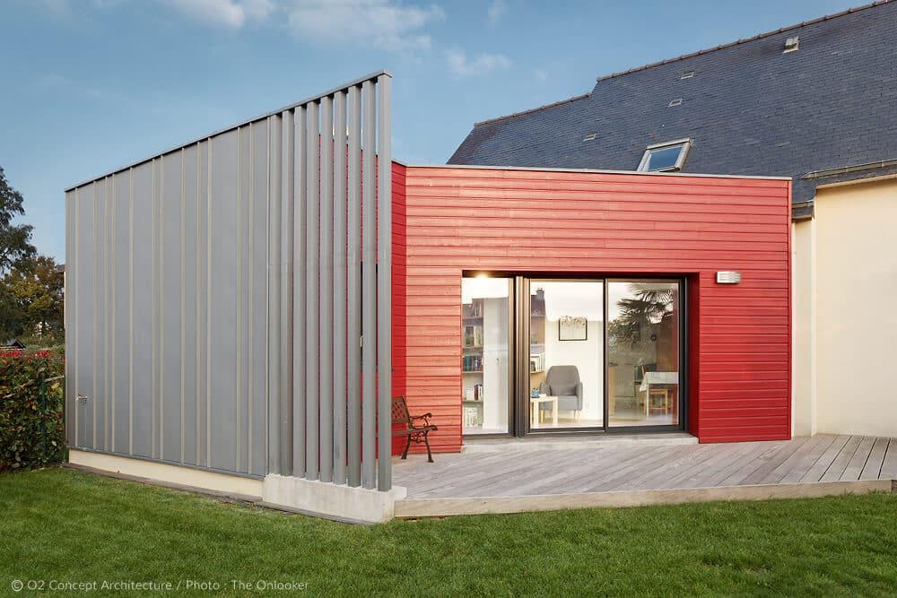 Extension o2 concept architecture for Extension maison suite parentale